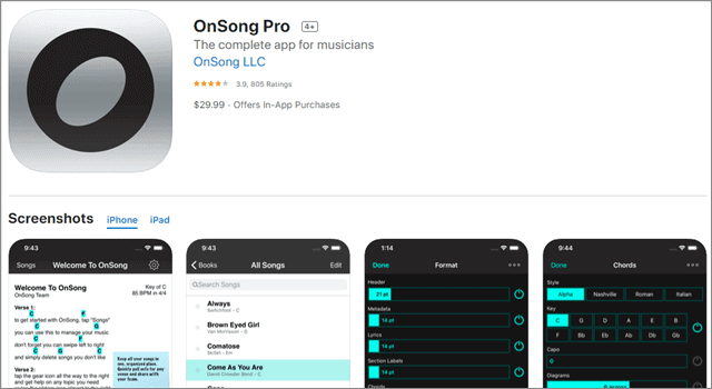 onsong pro for musicians
