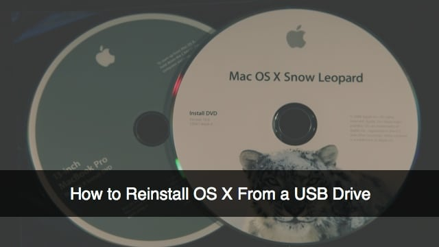 mac os x installation cd download