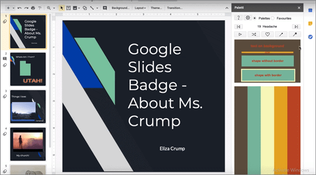 paletti google slides add ons