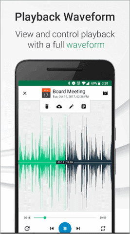 parrot best voice recorder app for android