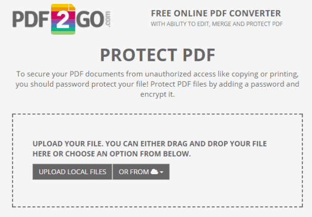 password-protect-pdf-pdf2go