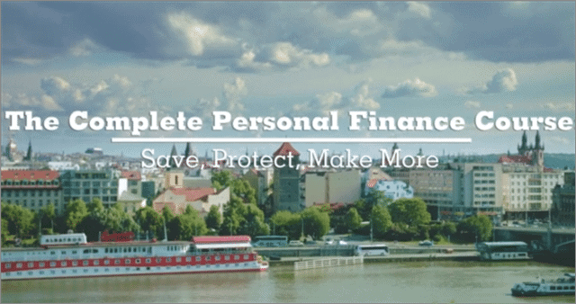 personal finance course from udemy