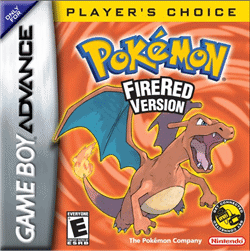 pokemon firered version gba games