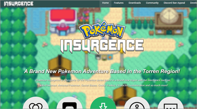 insurgence Best Pokemon Fan Games