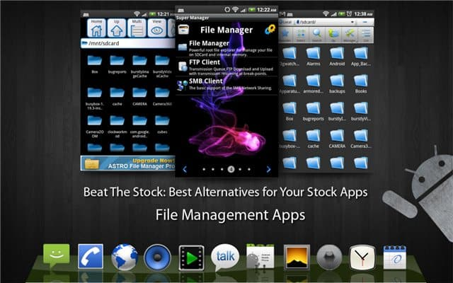 Top File Management Apps for Android - Beat The Stock