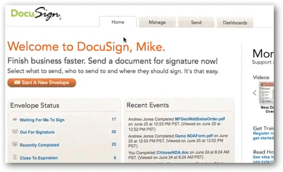 Easily Sign And Share Documents From Google Drive With DocuSign - Google online document