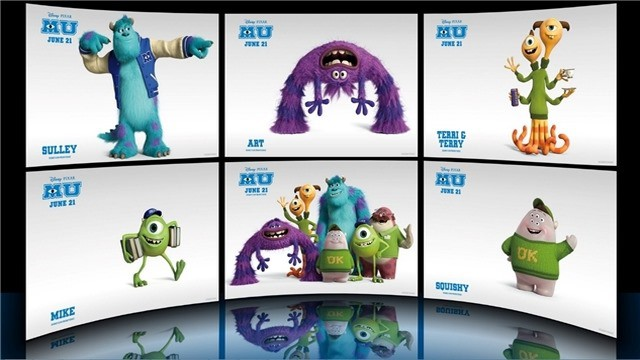 Get The Monsters University Theme For Windows 7 And Windows 8