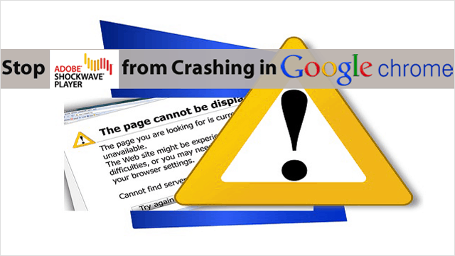 3 Tips To Stop Shockwave Flash From Crashing in Chrome for Good