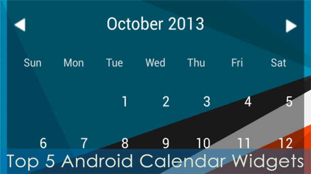 Calendario Android Widget.5 Top Calendar Widgets For Android Stay On Top Of Your