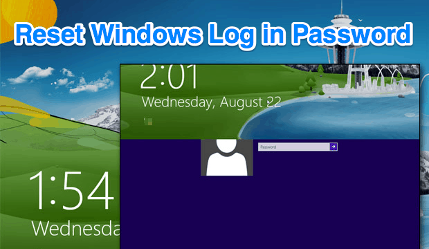 windows 8 lost password