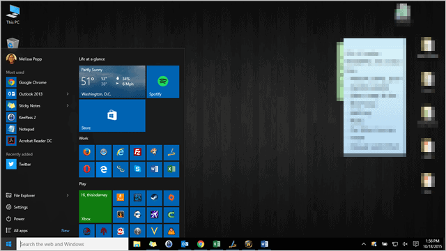 Prime How To Pin Universal Apps To The Desktop In Windows 10 Download Free Architecture Designs Rallybritishbridgeorg