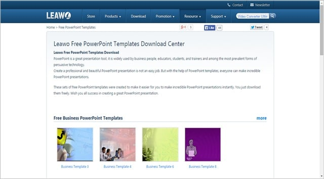 10 best sources for free powerpoint templates and themes, Modern powerpoint