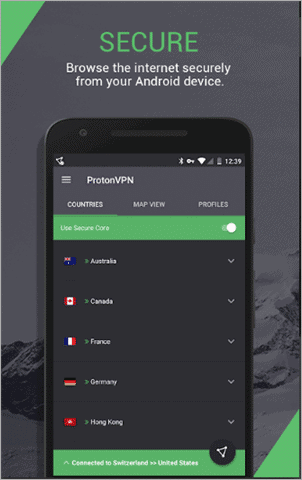ProtonVPN Secure and Free