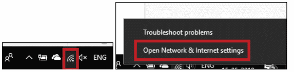 resolve error connected to wifi