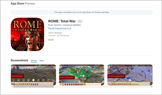 rome total war games like clash of clans