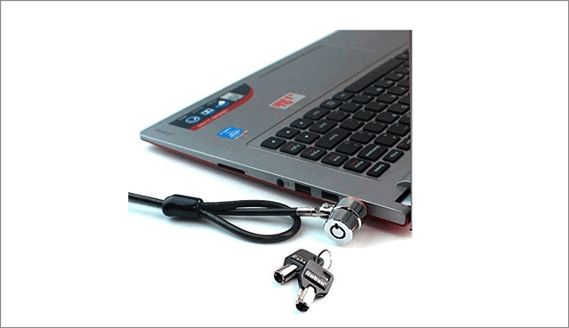 RUBAN Notebook Lock and Security Cable Lock