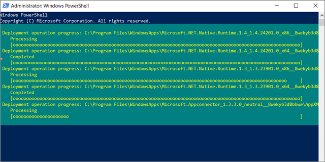 run powershell command  to fix Windows 10 Right Click Is Not Working