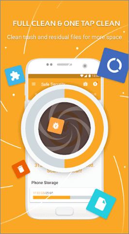 safe security best android cleaner app