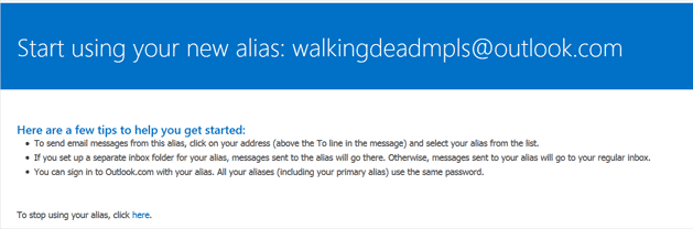 email-with-tips-for-new-outlook-alias