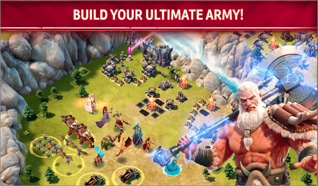 siegefall games like clash of clans