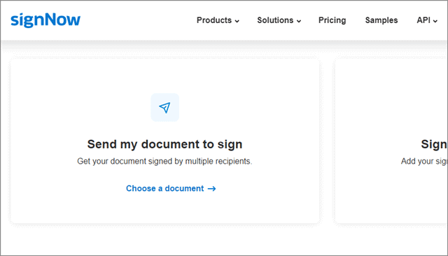 signnow sign documents online free