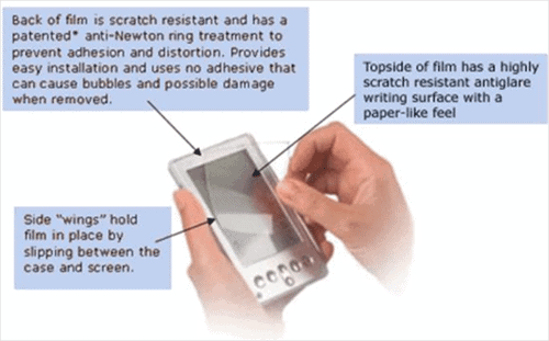 putting-a-screen-protector-on-a-smartphone