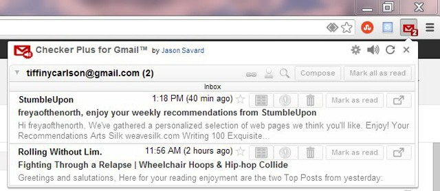 viewing-new-emails-in-the-toolbar