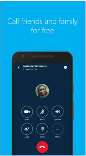 skype facetime for android