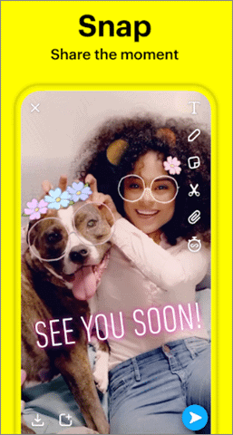 snapchat best video call app for android