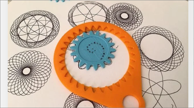 spirograph set cool things to 3D print