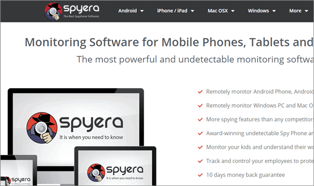 Spyera App For Android Free Download