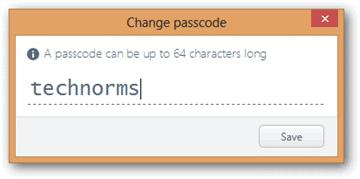 Enter-Passcode