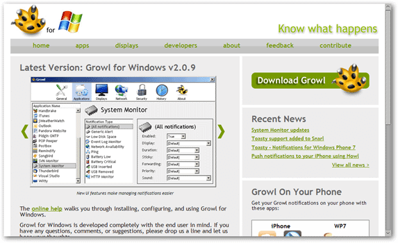growl-windows-download-page