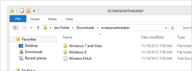 Extract-Screensavers-Tweaker
