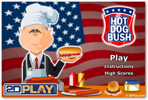 flash-pc-game-hot-dog-bush