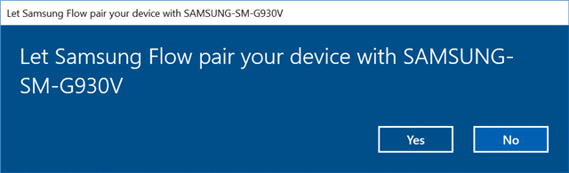 Samsung Flow Links Your Android Devices to Windows With Ease