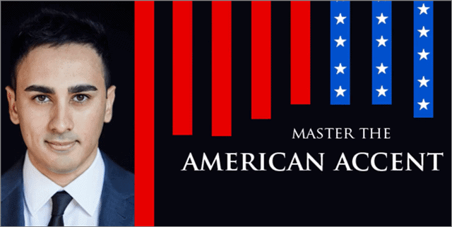 Master the american accent training course by Udemy