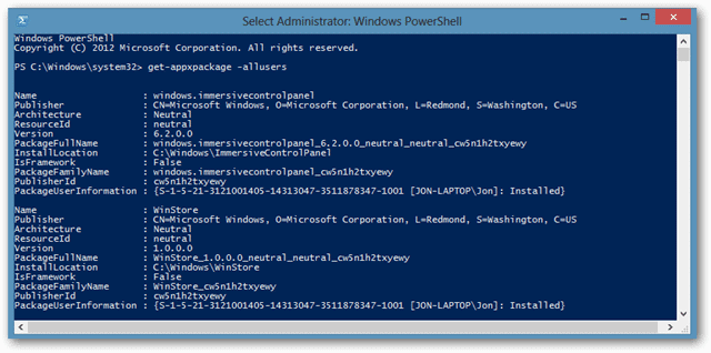 How to Use PowerShell to Remove Metro Apps from Windows 8