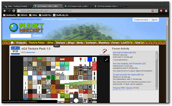 windows-chrome-planet-minecraft-texture-pack