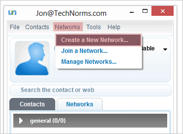 Create-a-new-network-in-Comodo-Unite