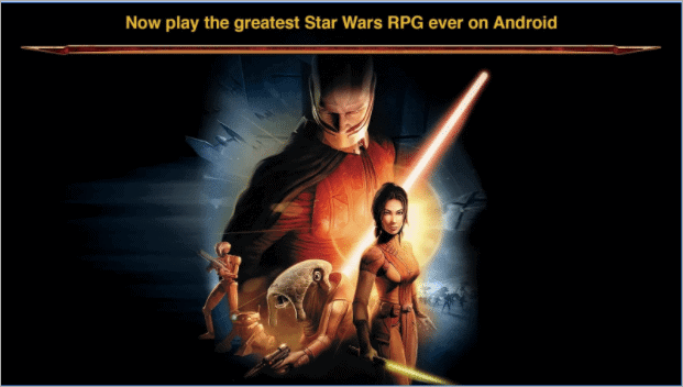 star wars offline android games