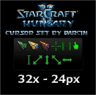starcraft 2 mouse pointers