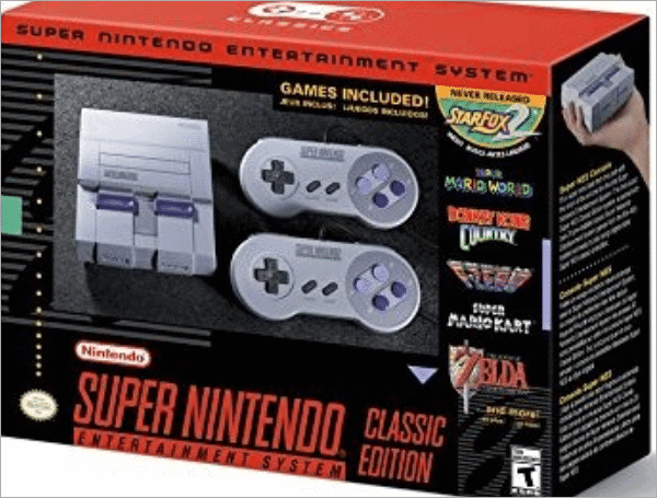 super nes classic cool tech gifts