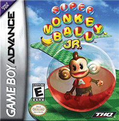 supermonkey ball junior gba games 1