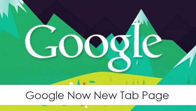 Google-Now-New-Tab-Page