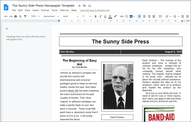 the sunny side press