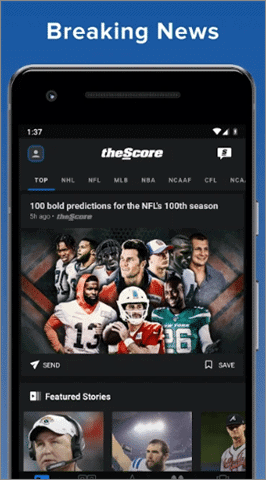 thescore best android news app