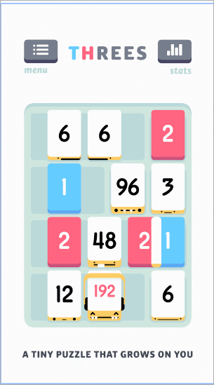 threes best android puzzle games