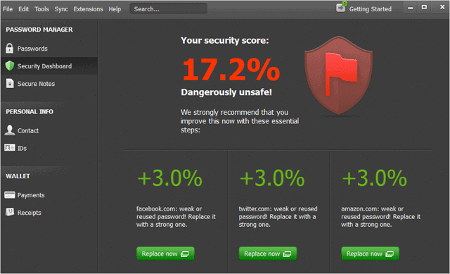 security-score-in-dashlane