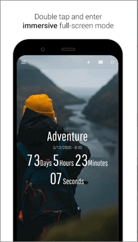 time until best android widgets